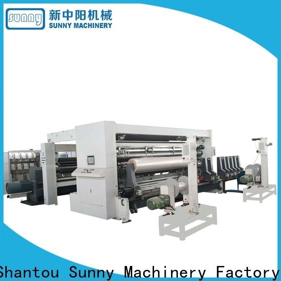 horizontal rewinder slitter machine high speed customized for factory