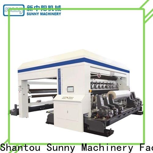 Sunny high speed rewinder slitter machine manufacturer bulk production