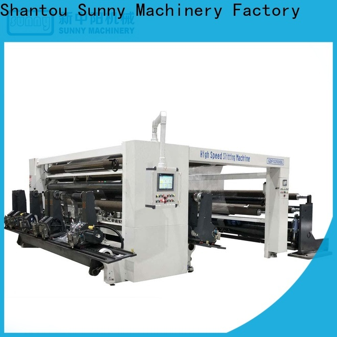 Sunny Sunny rewind slitting machines customized for sale