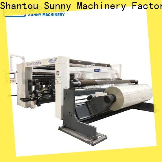 thermal slitting rewinding machine gantry supplier for production