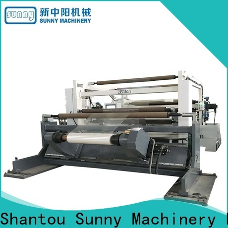 Sunny horizontal slitter rewinder supplier bulk production