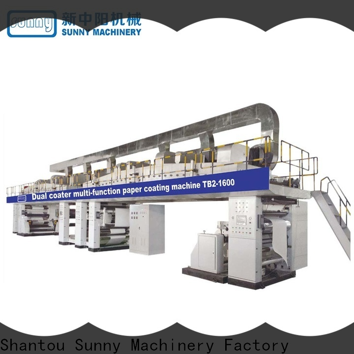 Sunny singlescrew extrusion coating lamination plant manufacturer for protection film