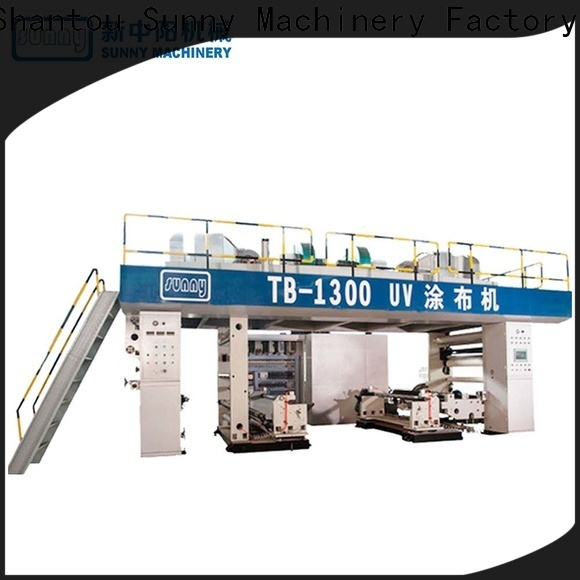 Sunny unwind dry laminating machine manufacturer for production
