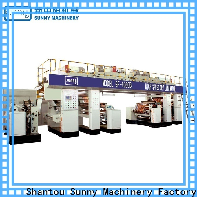 Sunny single extrusion coating machine supplier for protection film