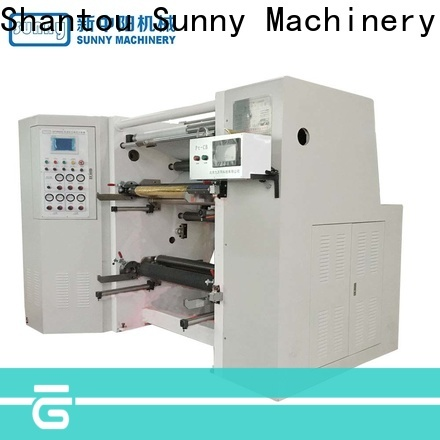 Sunny low cost slitting rewinding machine customized for factory