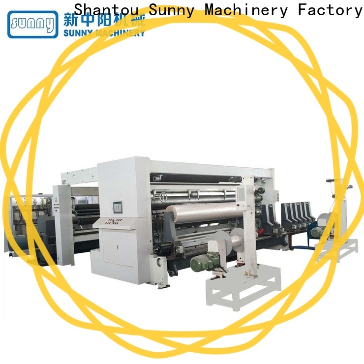 low cost slitting rewinding machine film supplier bulk production