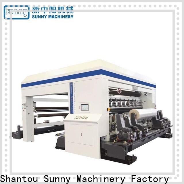 Sunny model slitter rewinder machine supplier at discount