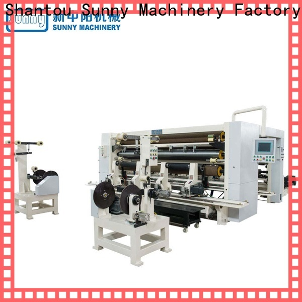 low cost slitter rewinder machine model customized for sale