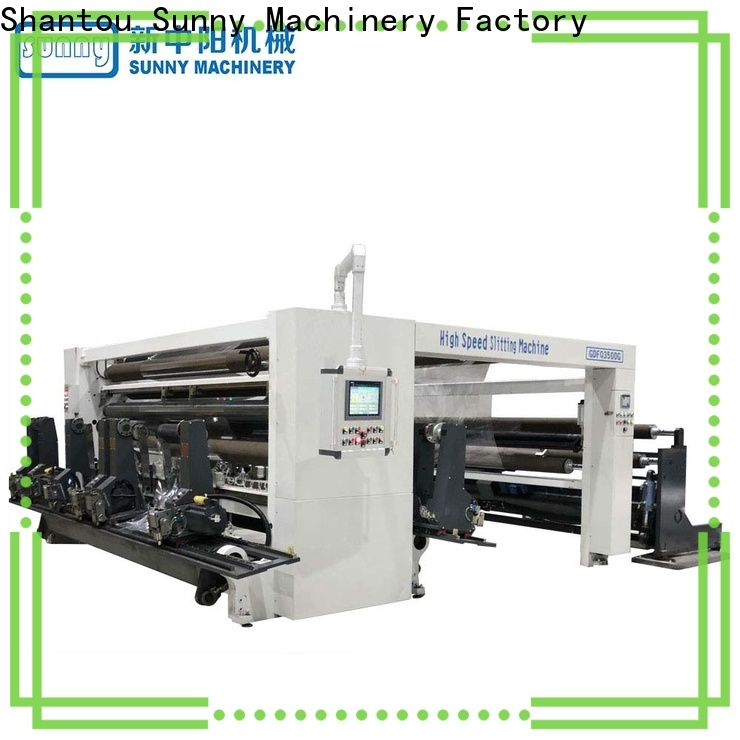 Sunny model slitting and rewinding machine customized at discount
