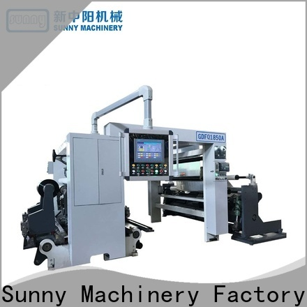 Sunny high speed slitting machines customized for factory