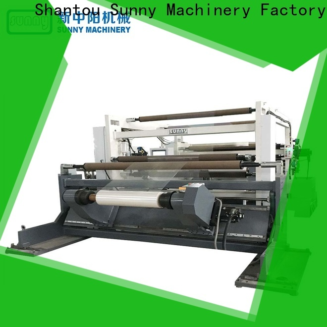 Sunny Sunny slitter rewinder machine wholesale for production