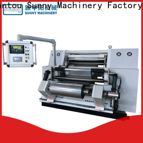 high quality rewinding machinery line supplier for production