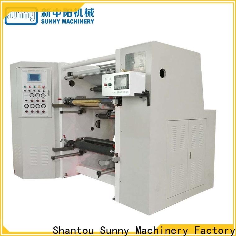 Sunny jumbo rewind slitting machines manufacturer at discount