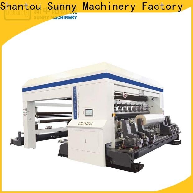Sunny quality slitting and rewinding machine wholesale bulk production