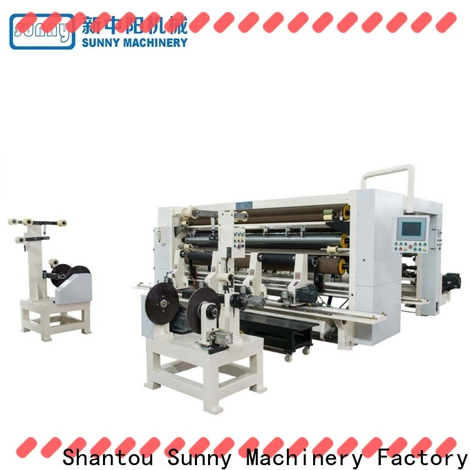 Sunny digital slitter rewinder machine wholesale for factory