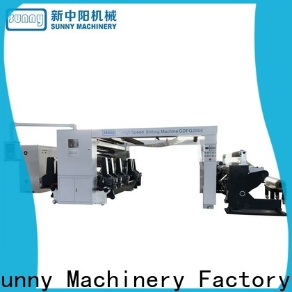 Sunny slitter rewinder film supplier bulk production