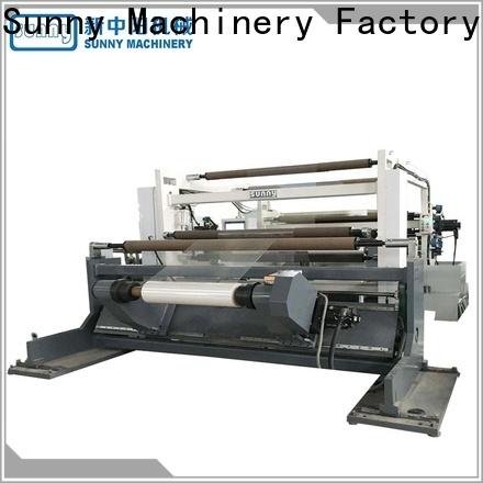 Sunny digital slitter rewinder machine customized for production