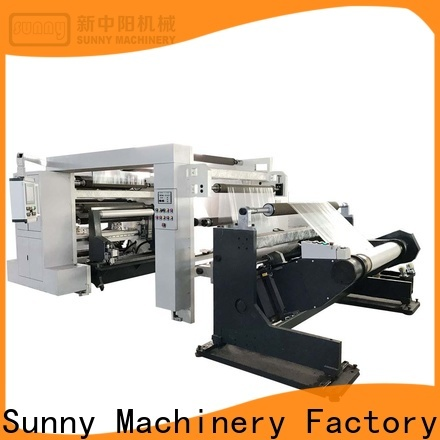 Sunny Sunny rewinding machinery supplier for factory