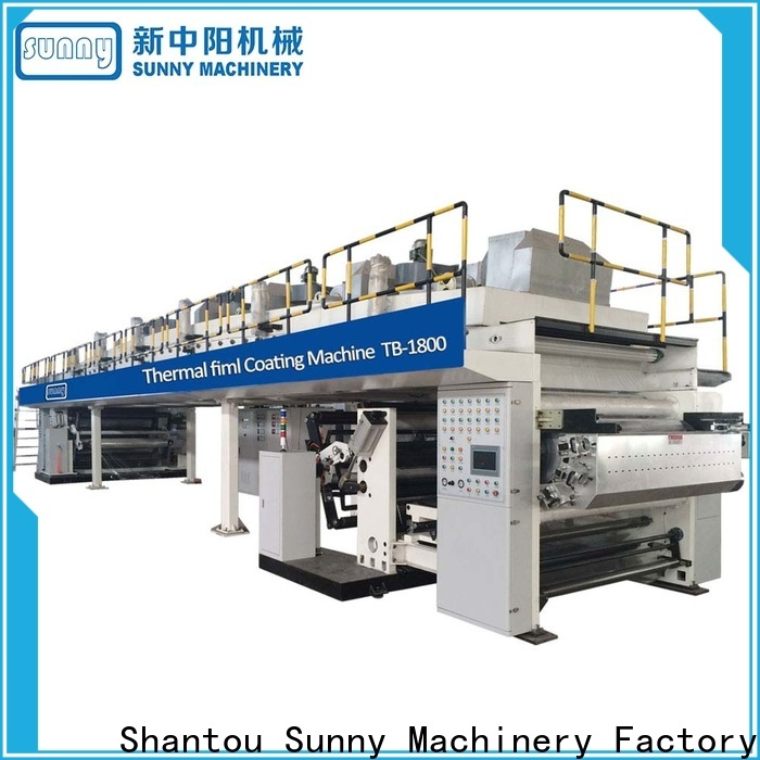tdie extrusion lamination plant rewind customized for laminating