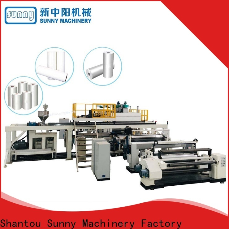 rewind extrusion coating lamination plant dual customized for factory
