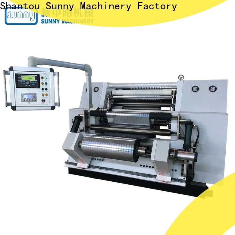 Sunny model slitting and rewinding machine supplier for production