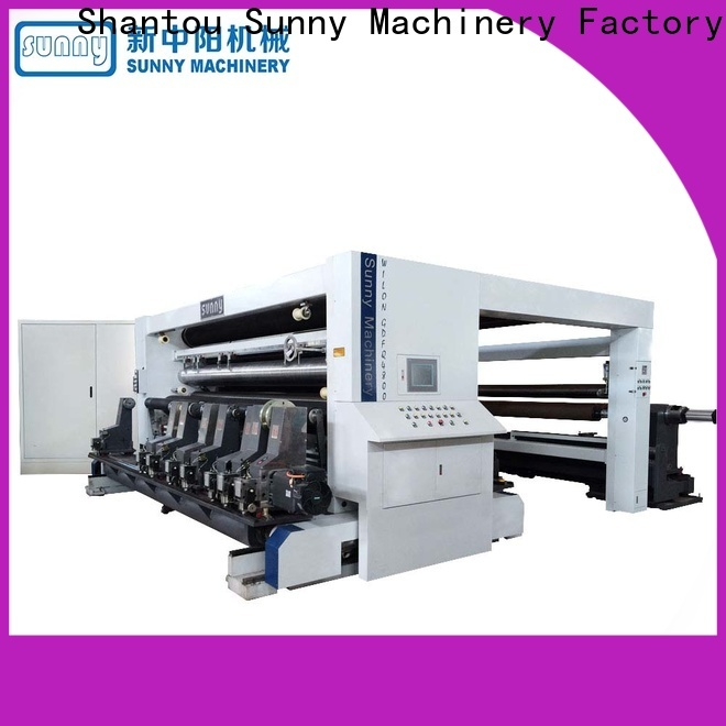 Sunny high quality rewinding machinery supplier for sale