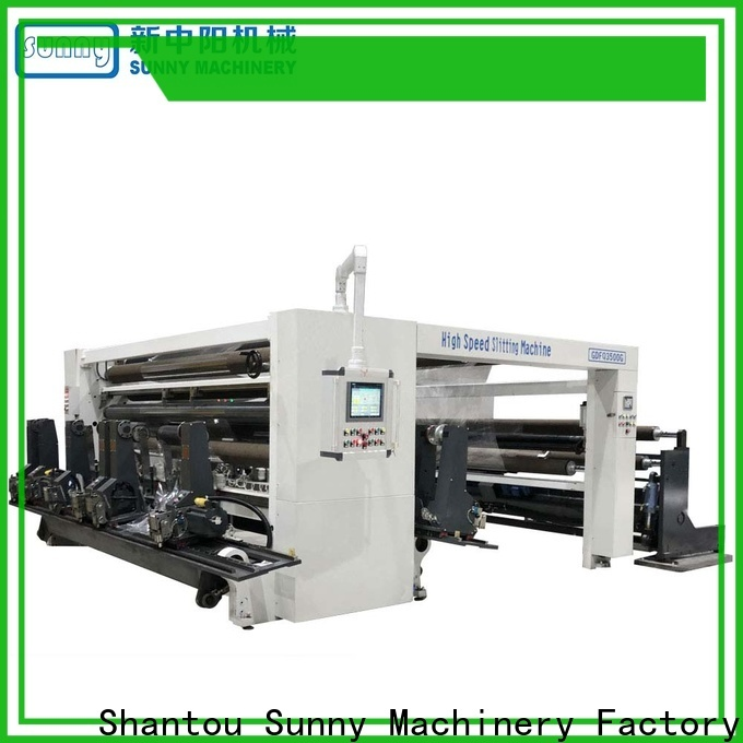 low cost slitter rewinder machine model wholesale for production
