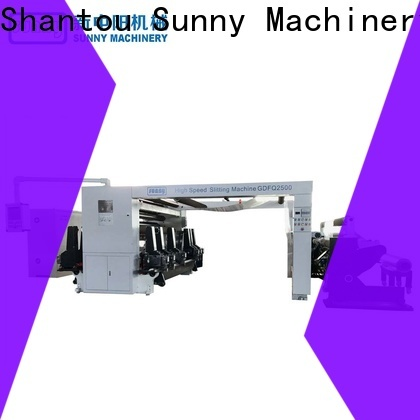 Sunny high quality slitting rewinding machine wholesale at discount