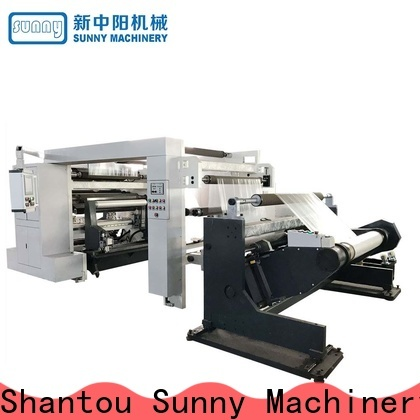 Sunny machines slitting rewinding machine manufacturer for sale