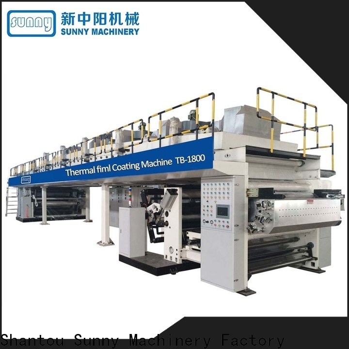dual extrusion coating lamination plant photo supplier for laminating