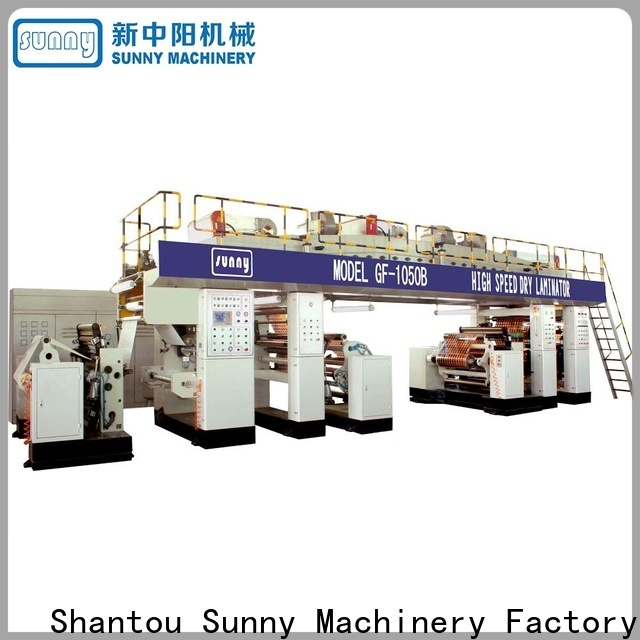 tdie extrusion coating lamination machine model customized for protection film