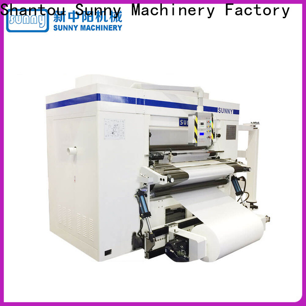 thermal slitter rewinder machine model supplier for production
