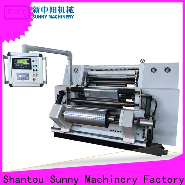 Sunny quality rewind slitting machines wholesale for factory