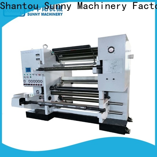 Sunny low cost rewinder slitter machine manufacturer at discount