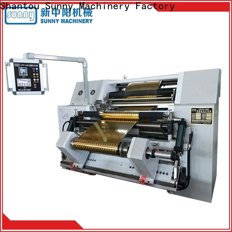 Sunny stations rewind slitting machines wholesale for production