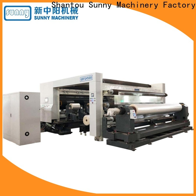 Sunny Sunny slitting rewinding machine customized for sale