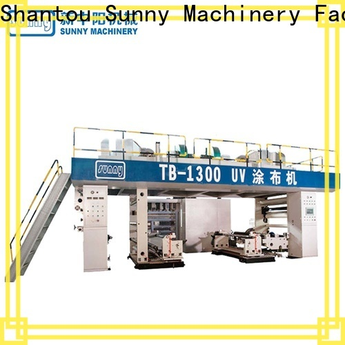 dual extrusion lamination machine uv customized for production