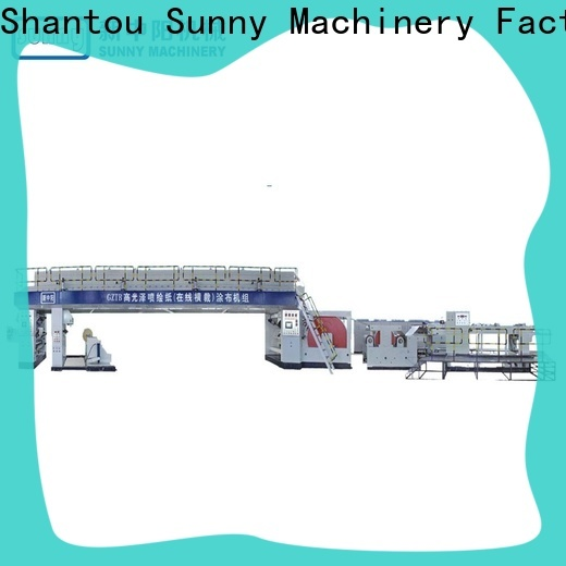 Sunny coater extrusion lamination machine customized for production