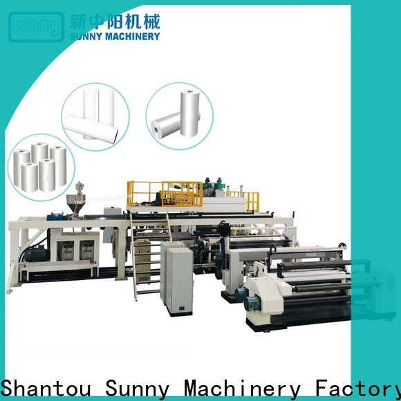 Sunny rewind dry laminating machine customized for packaging