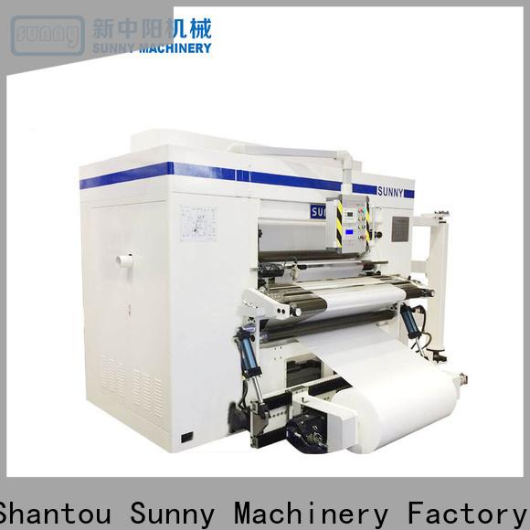 thermal rewinder slitter machine stations supplier for sale