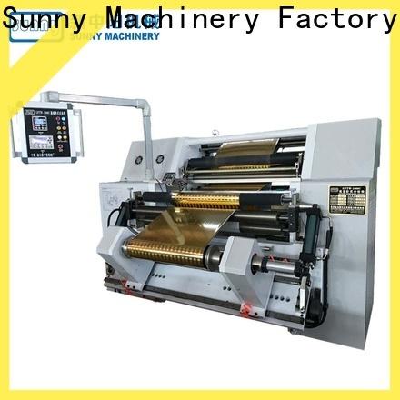 Sunny stations slitter rewinder machine wholesale bulk production