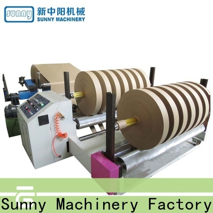 Sunny jumbo rewinder slitter machine customized bulk production