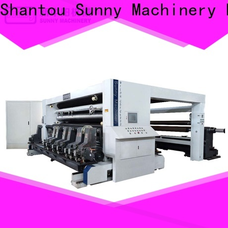 Sunny horizontal rewinder slitter machine manufacturer for factory