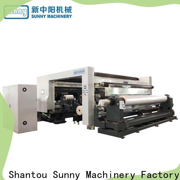 Sunny film rewind slitting machines customized for sale