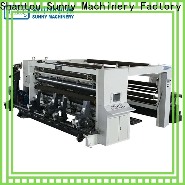 Sunny horizontal rewinder slitter supplier for factory