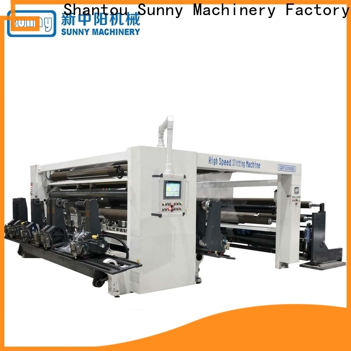 Sunny low cost slitter rewinder customized for sale