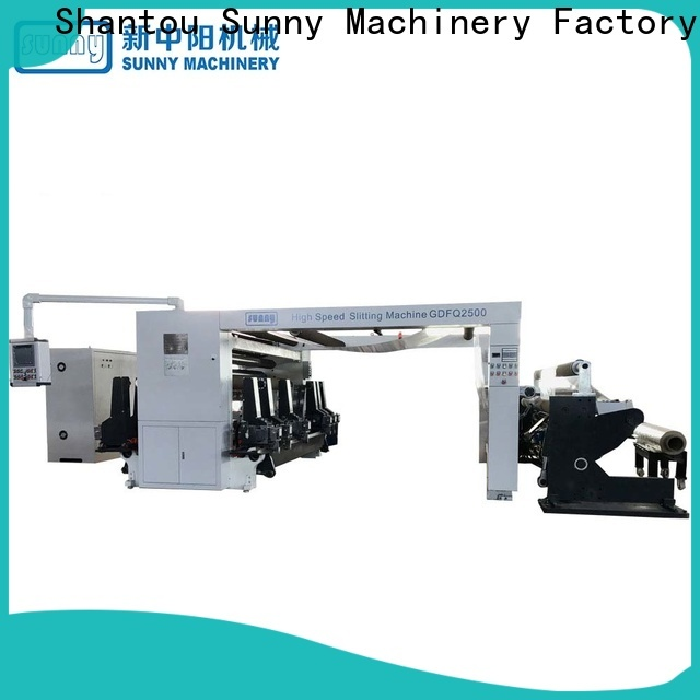 Sunny low cost rewinding machinery wholesale for factory
