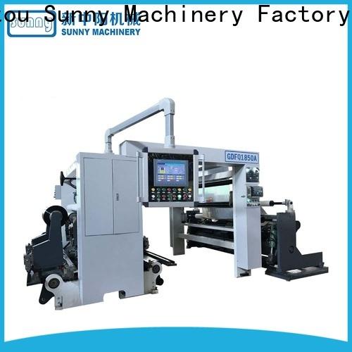 Sunny thermal rewinder slitter manufacturer bulk production