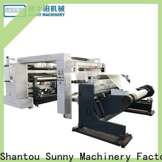 jumbo slitting machines sunny supplier for factory