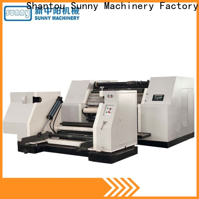 Sunny sunny rewinder slitter machine manufacturer for production